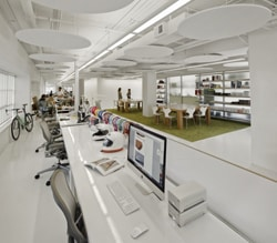 El espacio de la oficina